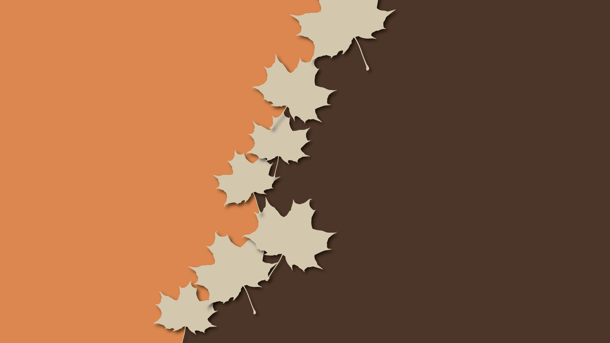 Minimal leaves wallpaper by cheetashock on deviantart for Deviantart minimal wallpaper