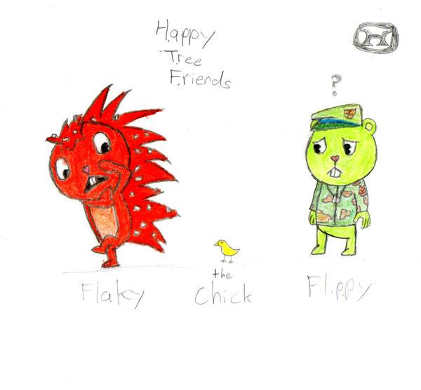 Flaky and Flippy by lagmentcreator