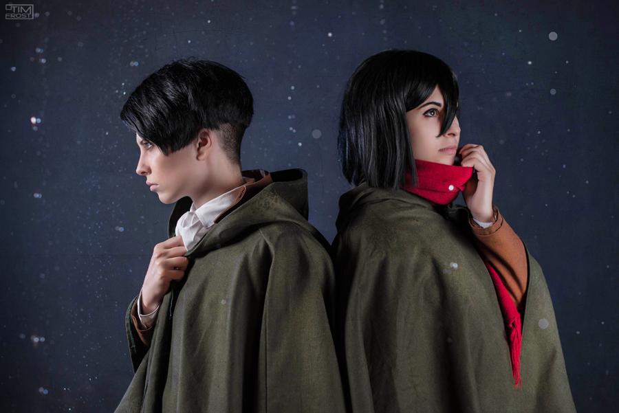 Levi and Mikasa Ackerman - Hope of Humanity by GarnetTilAlexandros