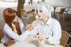 Give me a bite, Nanami