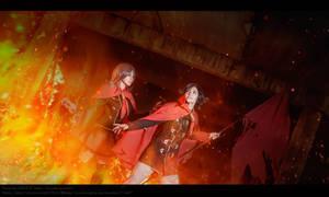 Final Fantasy Type 0 - Let it burn