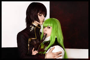 Lelouch and C.C - Witch and Warlock by GarnetTilAlexandros