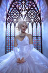 Lunafreya wedding cosplay
