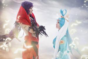 Focalor vs. Vinea - cosplay by GarnetTilAlexandros