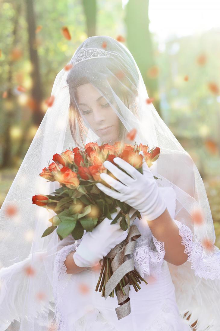 Wedding Yuna cosplay by GarnetTilAlexandros