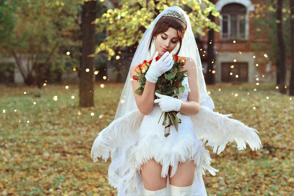 Yuna - Wedding Angel by GarnetTilAlexandros