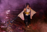 Yuna Summoner cosplay