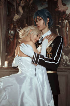 May you two know happiness - Luna and Noctis