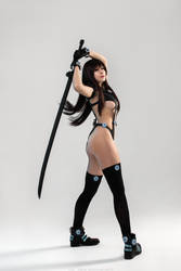 Reika Shimohira Figurine Cosplay by GarnetTilAlexandros