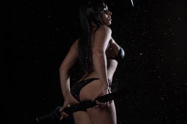 Reika Shimohira - Aqua cosplay photosession