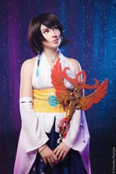 Yuna with Nirvana cosplay