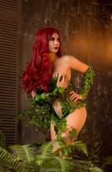 Poison Ivy - DC cosplay
