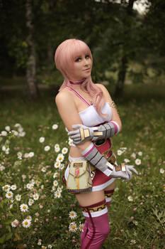 Serah Farron cosplay - FF XIII-2