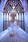 Lunafreya wedding cosplay