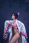 Shinobu Kocho - erotic shibari cosplay