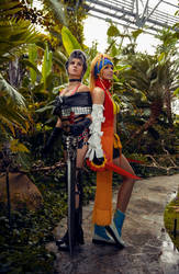 Gulwigs cosplay - Rikku and Paine