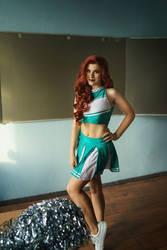 Redhead Cheerleader