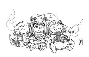 Udon time by aexons