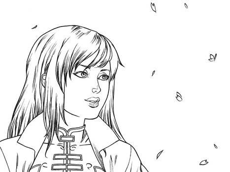 Sakura no kaze - close-up 1