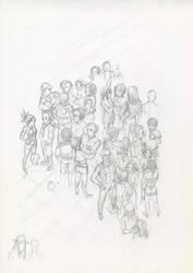 Dokuro - Gang's party