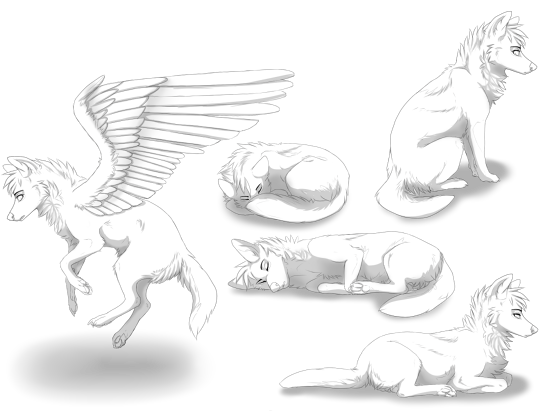 Sippet / Boeii / Lio Free_wolf_poseset_by_sippet-d8gmfbh