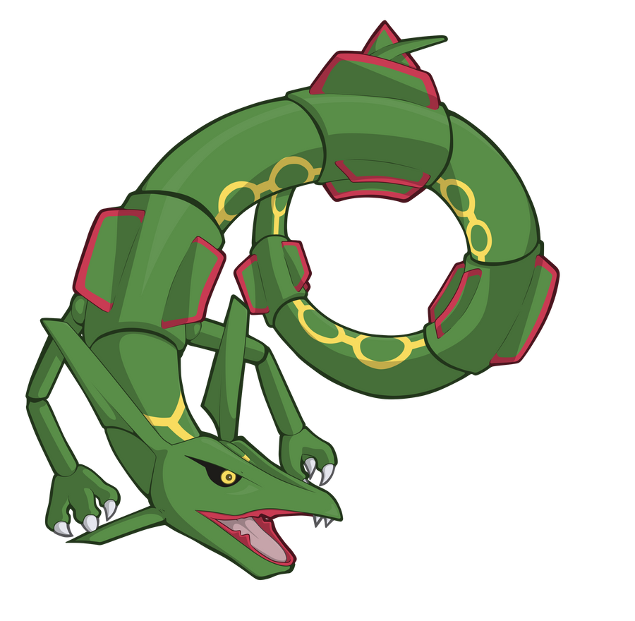 Rayquaza by TheSketchADoodle