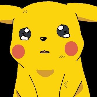 Pikachu crying drawing - photo#19