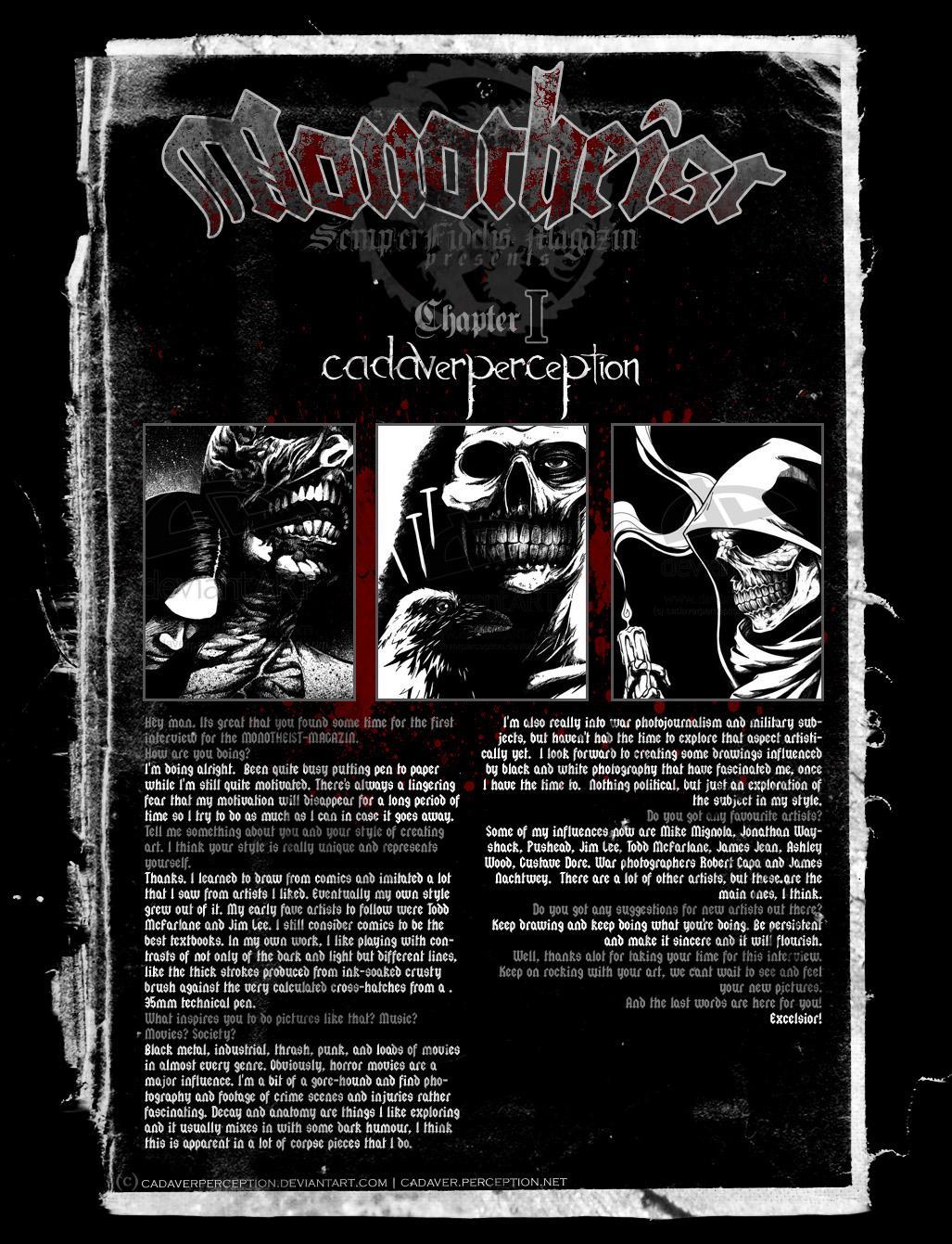 Monotheist Magazin: Chapter I by Monotheist-Magazin
