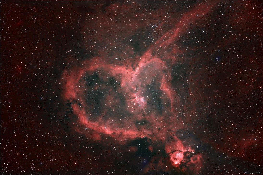 Heart Nebula by Keith139