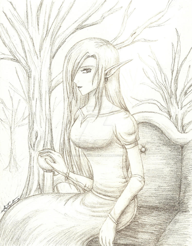 Queen of the Dark Wood by theLostSindar
