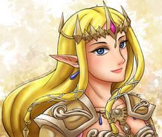 Queen Zelda by theLostSindar
