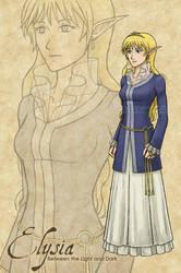 Princess Elysia by theLostSindar