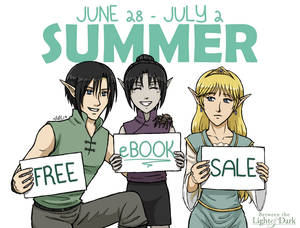 Summer Free eBook Sale!