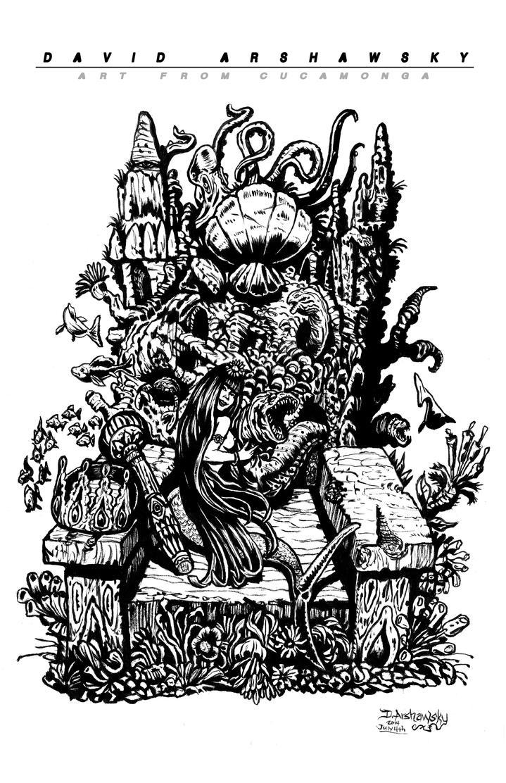 Neptune's Throne by Arshawsky