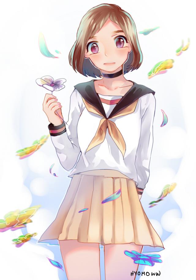 Flower by hyomoww