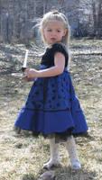 Blue Dress Lexi 1 by Falln-Stock
