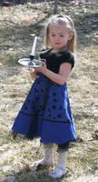 Blue Dress Lexi 4 by Falln-Stock