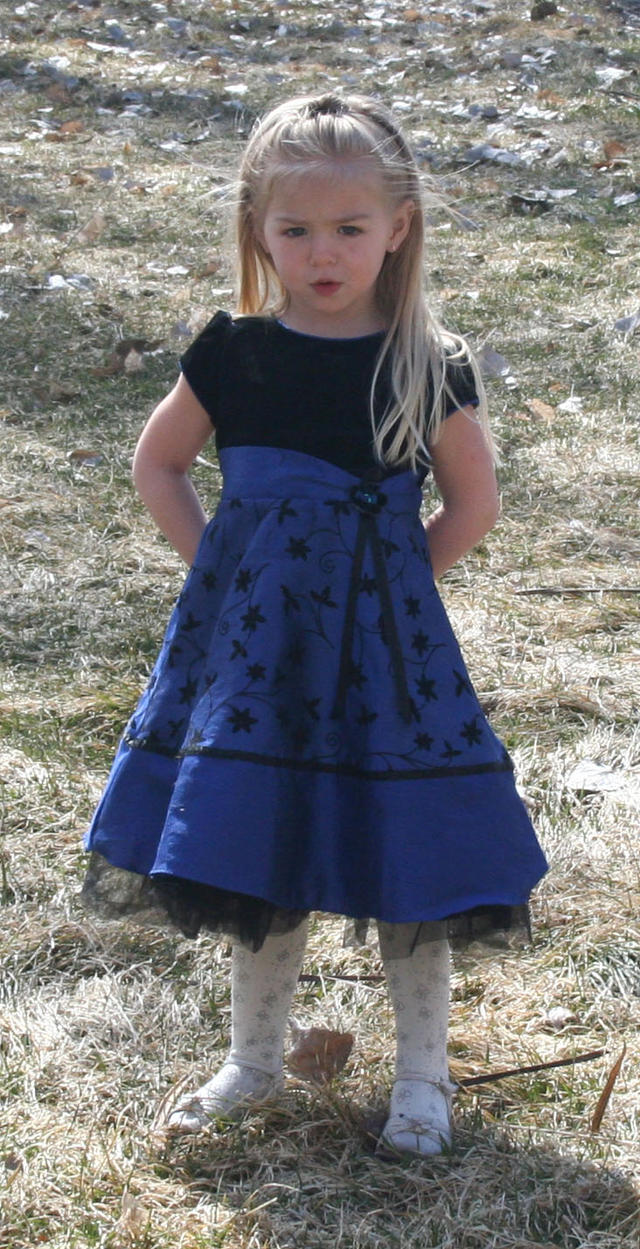 Blue Dress Lexi 7 by Falln-Stock