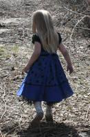 Blue Dress Lexi 29 by Falln-Stock