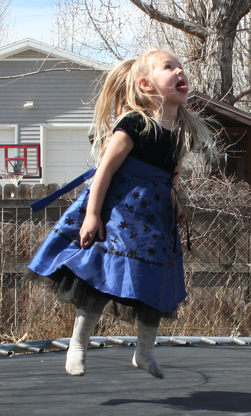 Blue Dress Lexi 37 by Falln-Stock