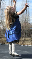 Blue Dress Lexi 38 by Falln-Stock