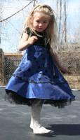 Blue Dress Lexi 40 by Falln-Stock