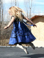 Blue Dress Lexi 57 by Falln-Stock