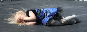 Blue Dress Lexi 60 by Falln-Stock