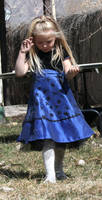 Blue Dress Lexi 69 by Falln-Stock