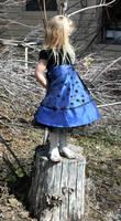 Blue Dress Lexi 72 by Falln-Stock
