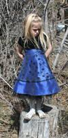 Blue Dress Lexi 73 by Falln-Stock