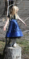 Blue Dress Lexi 74 by Falln-Stock