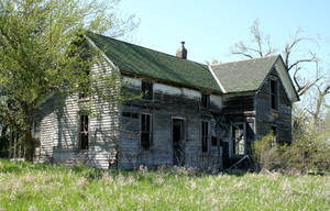 Holton Abandoned House by Falln-Stock