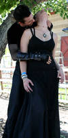 Corset Stalker and Moe 34 by Falln-Stock